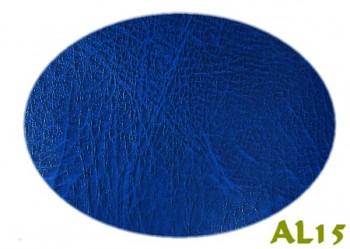Koženka modrá žíhaná AL15, á 1m