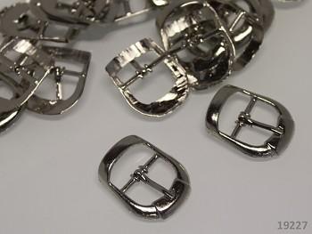 Kovová spona opasková či na kabelky 17mm, 1ks