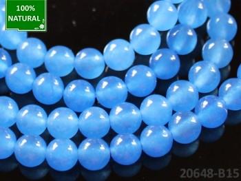 Přírodní JADEIT modrý, kuličky Ø 6mm, bal. 10ks