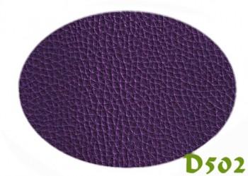 Koženka tmavě fialová D502, á 1m
