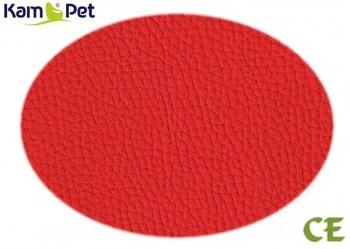 Koženka červená super jasná CE, á 1m