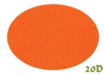 Koženka oranžová 20D, á 1m