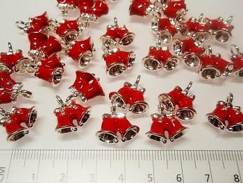 Červené zvonečky, á 1ks