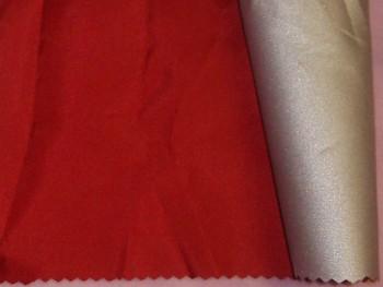 Látka šusťákovina červená