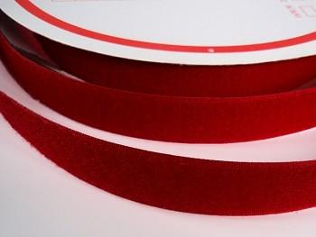Suchý zip šíře 20mm bordó KOMPLET