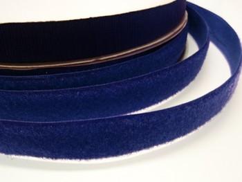 Suchý zip šíře 20mm tmavě modrý KOMPLET
