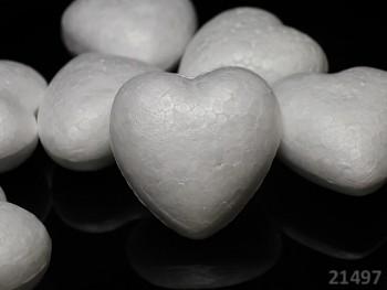 Polystyrénový srdce výlisek  100mm, á 1ks