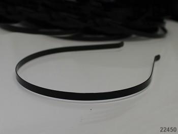 Vlasová čelenka 4mm černá, á 1ks