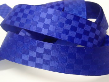 Stuha atlasová 25mm Square modrá nivea á 1m