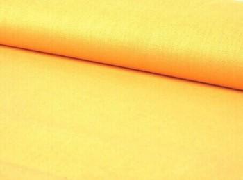 Žluté bavlněné plátno ATEST pro děti do 3let