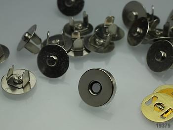 Magnetické zapínání kulaté chrom 14mm