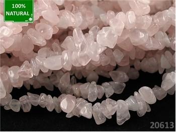 Přírodní minerál RŮŽENÍN, zlomky