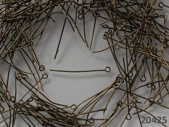 Ketlovací jehly 35mm bronzové