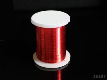 Bižu drátek ČERVENÝ 0.3mm, cívka 10m