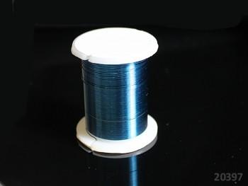 Bižu drátek TYRKYSOVÝ 0.3mm, cívka 10m