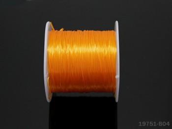 Elastická lycra 0,8mm TM. ŽLUTÁ, cívka
