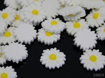 Kabošon květ kopretinka 20/5, bal. 2ks
