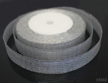 Lurexová stuha šíře 20mm STŘÍBRNÁ