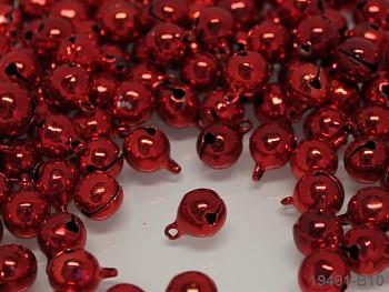 Rolničky červené 10mm, balení 10ks