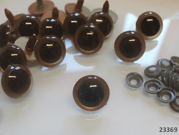 Bezpečnostní oči 25mm,  bal. 4ks
