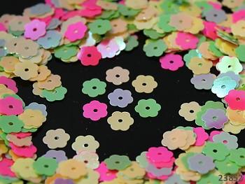 Flitry sypané květinky MIX, bal. 5g