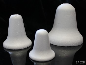 Polystyrénový zvonek výlisek 60mm, á 1ks