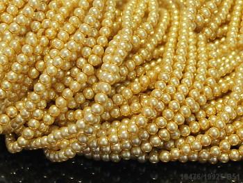 Korálky voskované perly 4mm EI KOŇAK