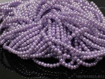 Voskované perly 8mm SVĚTLE FIALOVÉ