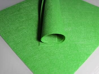ZELENÝ dekorační filc tvrdý 30x30cm