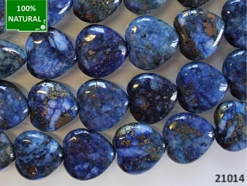 Přírodní minerál Lapis lazuli srdce 20mm