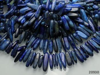 Přírodní minerál Lapis lazuli zuby MIX