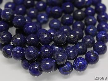 Přírodní minerál Lapis lazuli, kuličky  10mm