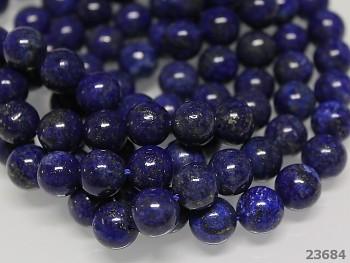 Přírodní minerál Lapis lazuli, kuličky  8mm