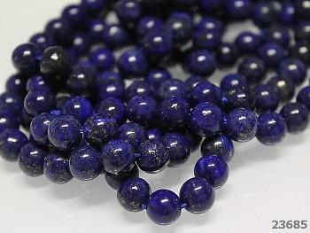 Přírodní minerál Lapis lazuli, kuličky  6mm