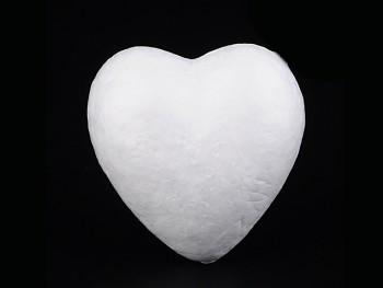 Polystyrénový srdce výlisek 60mm, á 1ks