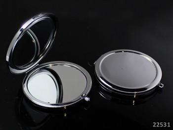 Kosmetické zrcátko 70mm s lůžkem k dozdobení