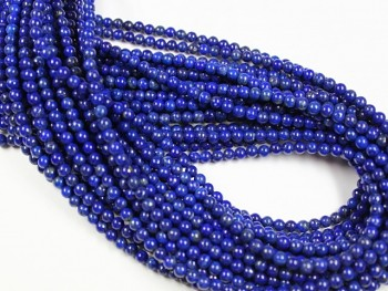 Lapis lazuli  kuličky Ø 4mm, bal. 10ks