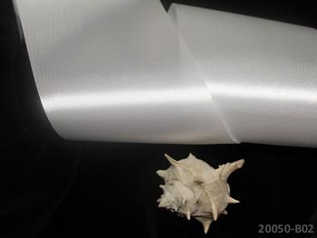 Stuha atlasová 100mm SMETANOVÁ, á 1m
