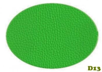 Koženka zelená jarní tráva / jablíčko