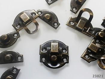 Zámek /zapínání kovové bronzový 1ks