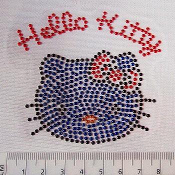 Nažehlovačka aplikace hotfix HELLO KITTY