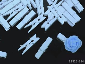 Dekorační kolíčky RŮŽOVÉ na jmenovky a k dekoraci, bal. 10ks