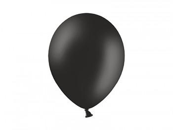 Nafukovací balónek ČERNÝ 27cm pastelový extra pevný