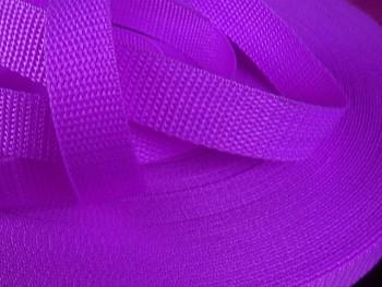 Popruh polypropylénový šíře 25mm SVĚTLE FIALOVÝ