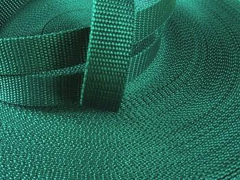 ZELENÝ popruh polypropylénový šíře 30mm PP popruh 3cm