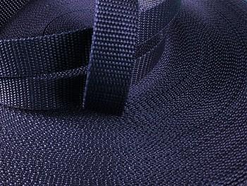 Popruh polypropylénový šíře 10mm TMAVĚ MODRÝ