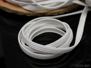 BÍLÁ pruženka guma prádlová 5mm, bal. 100m