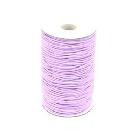 SVĚTLE FIALOVÁ  guma kulatá 2mm pruženka,  á 1m