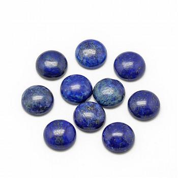 Modrý lapis lazuli přírodní minerál kabošon 10mm