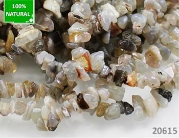 Přírodní minerál striped ACHÁT, chipsy
